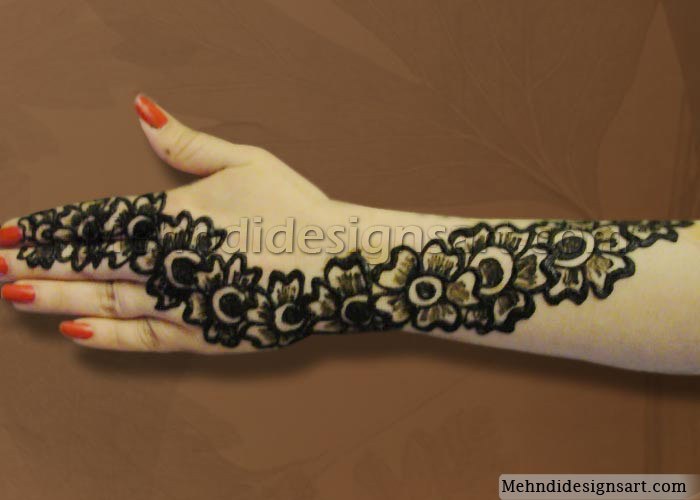 Mehndi Designs For Hands Images Pdf : Modern mehndi art raksha bandhan