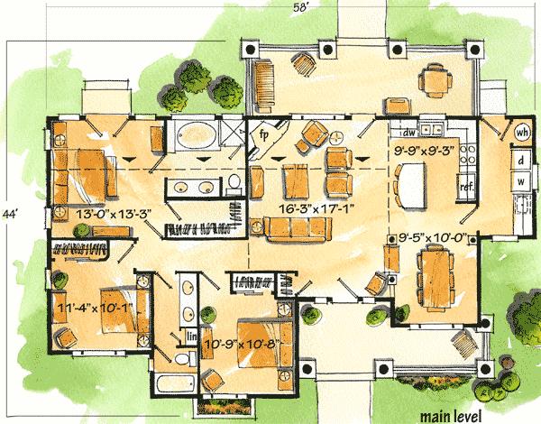 Planos de casas gratis plano caba a 94 m2 for Realizar planos