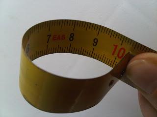 Medida del grosor de la empuñadura de la pala de pádel