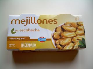 Mejillones en escabeche HACENDADO
