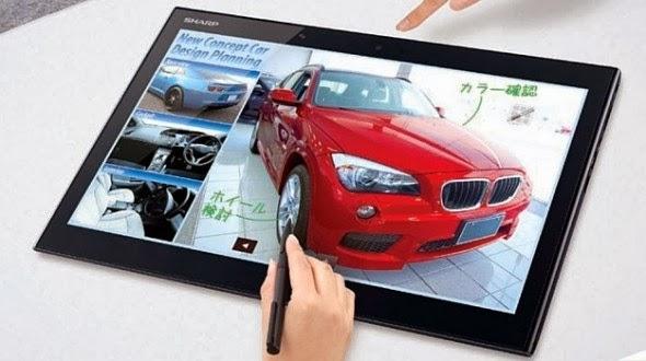 3K IGZO, Resolution 3K IGZO, tablet, Sharp 3K IGZO, Sharp 3K IGZO Resolution, Sharp 3K IGZO Resolution tablet