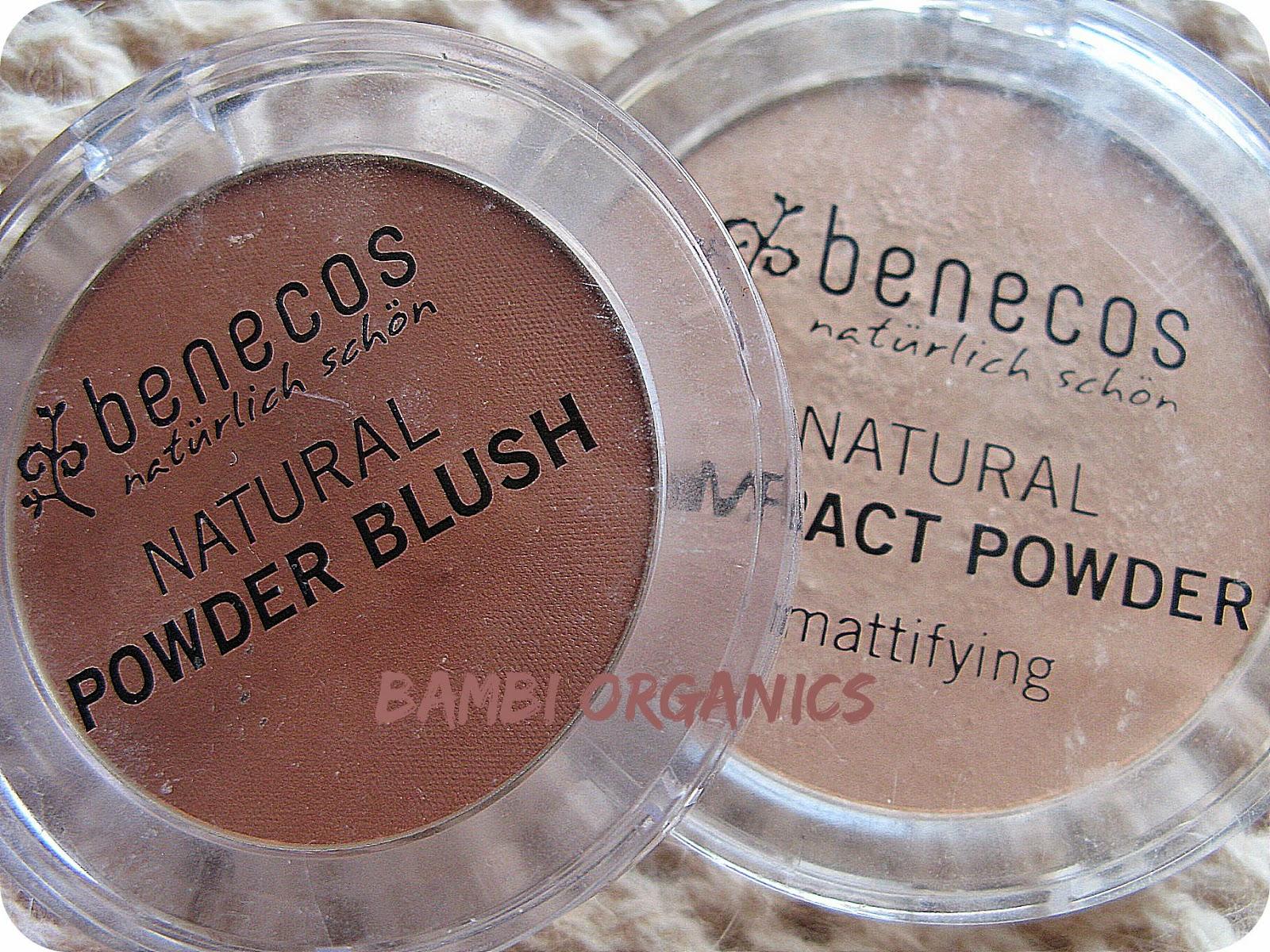 Bambi Organics Benecos Cipria E Blush Compact Powder 09 Ottobre 2013