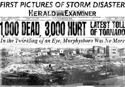 The Tri-State Tornado (March 18, 1925)