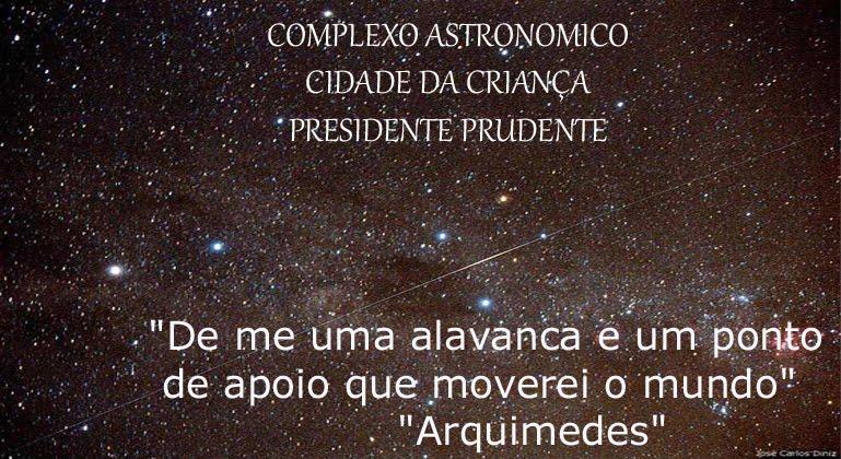 COMPLEXO ASTRONÔMICO