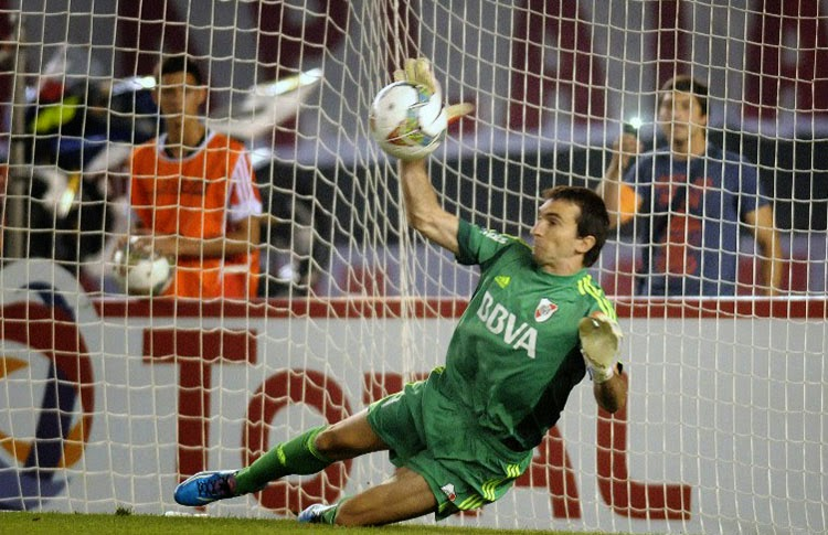Barovero, superclasico, sudamericana, copa, gigliotti, River, River Plate, Boca, Boca Juniors,