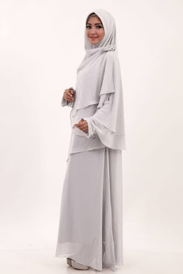 Model Gamis Cerutti Syar'i Terbaru 2016