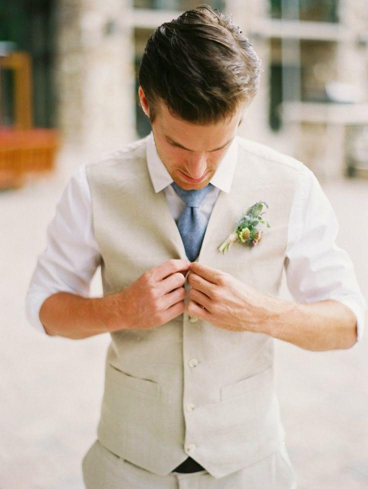 Diferentes tipos de nudos de corbata para el novio