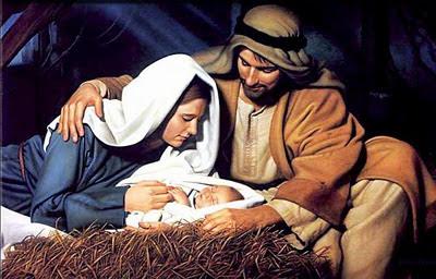 Božićne slike Isus Krist, Marija i Josip