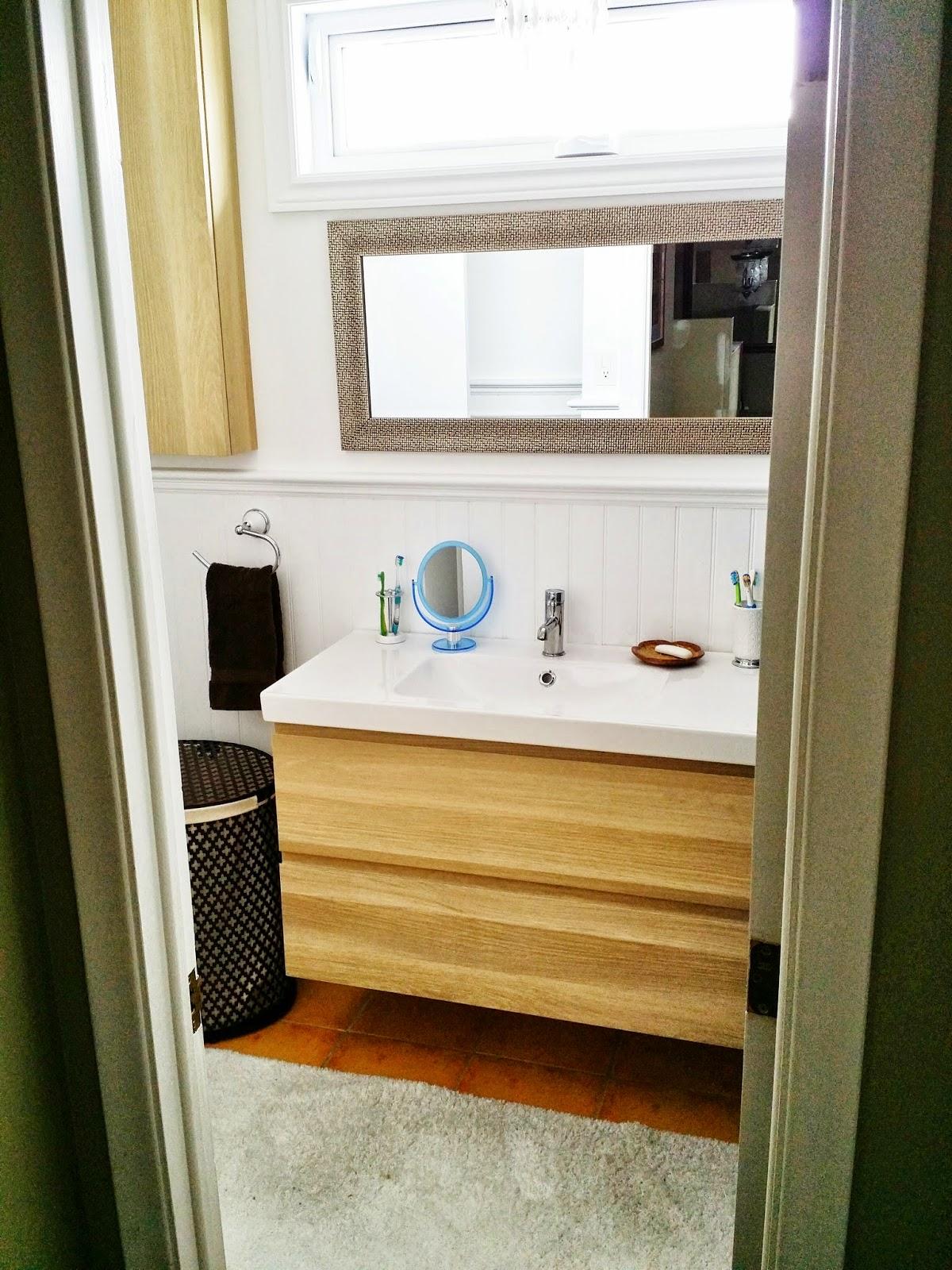 Functional Bathroom my sister creates a sweet functional bathroom in a weekend (or 2