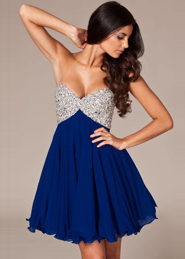 Navy Blue Dressy Dresses for Juniors