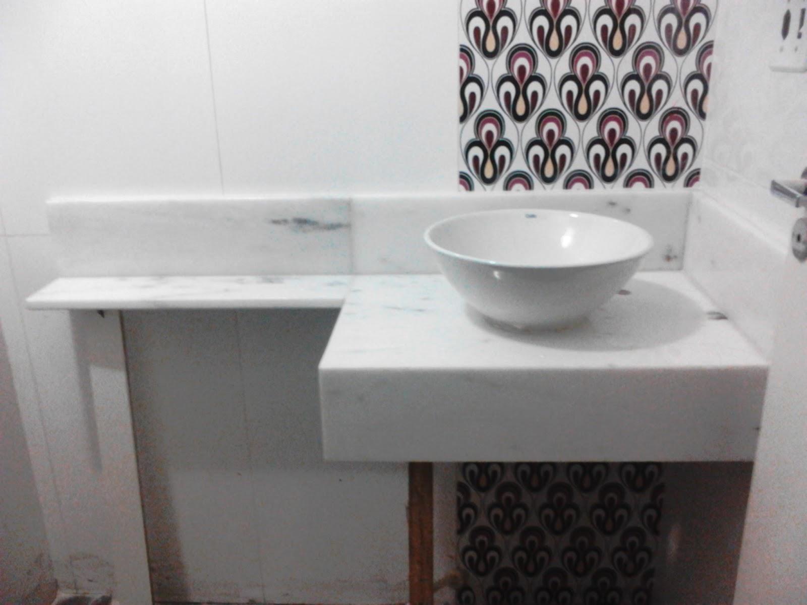 Alessandra Spadaro Cubas de Apoio -> Cuba E Vaso Para Banheiro
