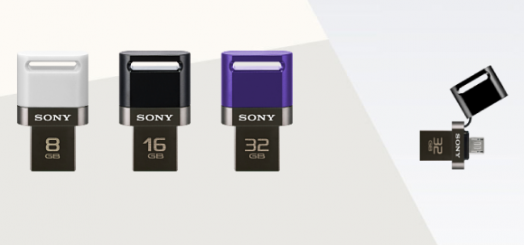 Sony 2 in 1 USB Pen Drive works for both Smartphones and Tablets
