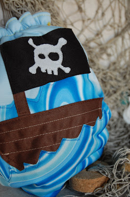 Pirate Booty Fluff, cloth diaper, review