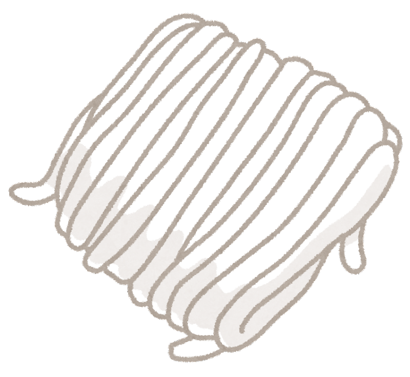 年賀状 2015 年賀状 フリー : 束になった、白いうどんの生麺 ...