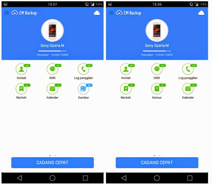 Aplikasi Untuk Mencadangkan Foto, Kontak, SMS Dan Lainnya Dunia Android