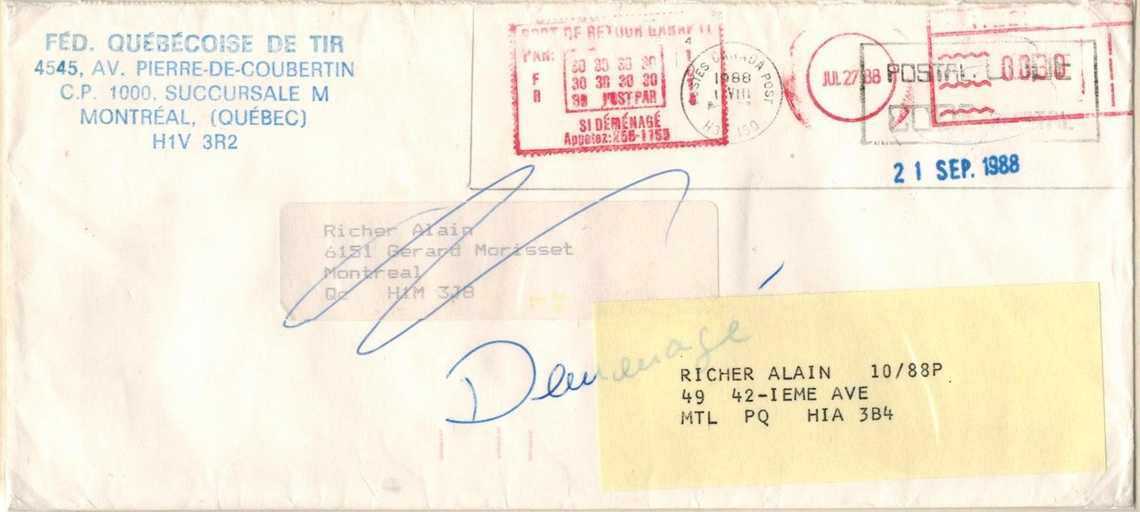 Postal History Corner 1987 Postpar Inc Private Mail Service