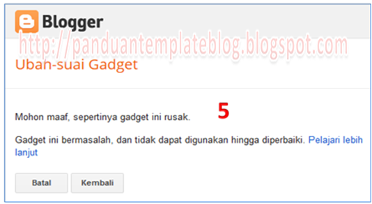 Cara Memasang Kolom Widget Recent Post