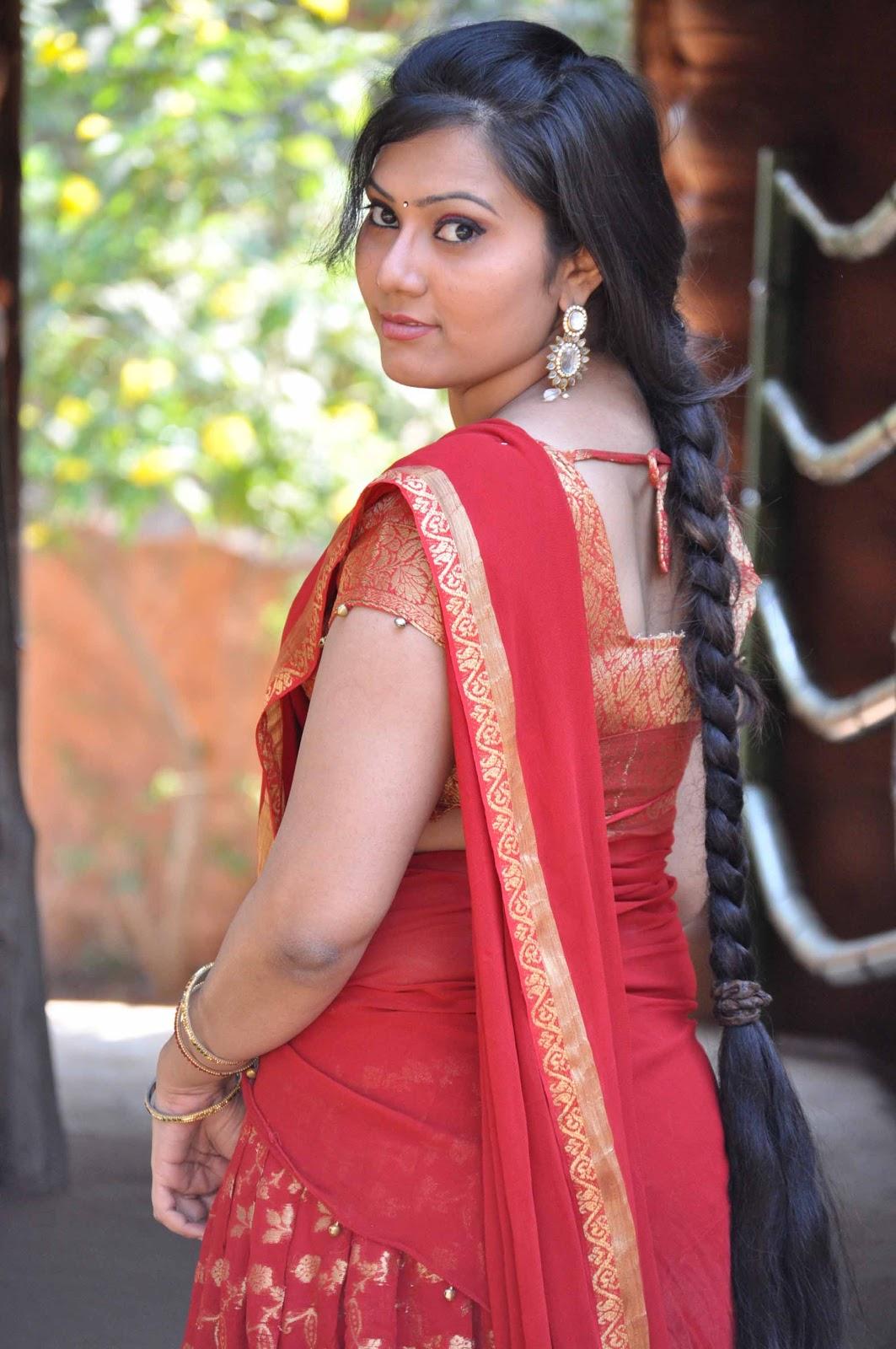 Tamil Actress Half Sarees Stills