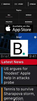 News App of the Month - Brief