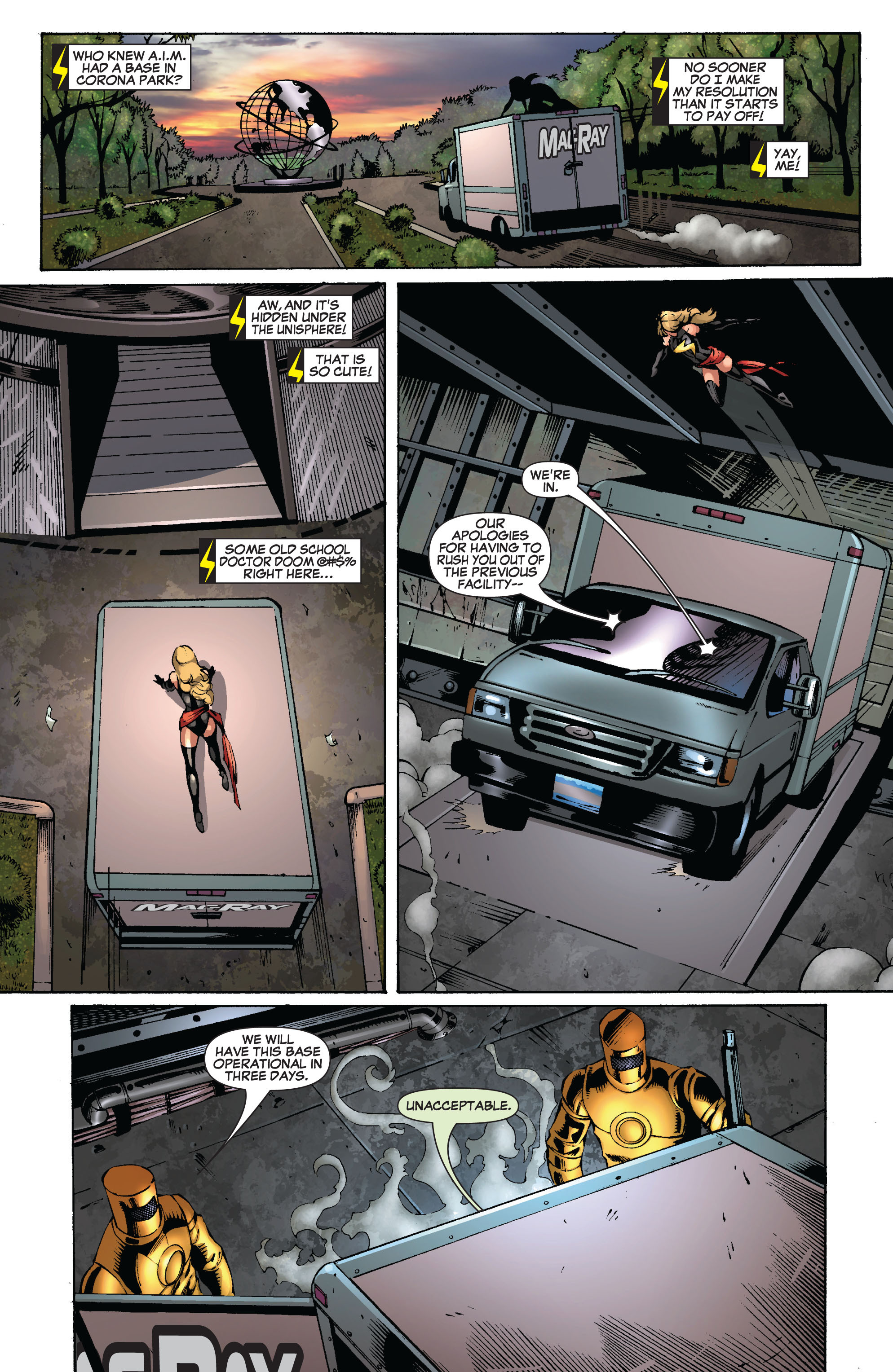 Read online Secret Invasion: The Infiltration comic -  Issue #8 - 23