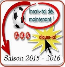 Inscriptions saison 2015 - 2016