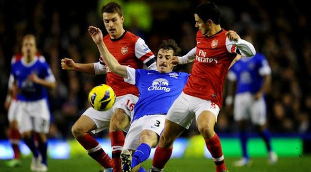 arsenal vs everton liga inggris epl 2014 Hasil Skor Akhir: Arsenal vs