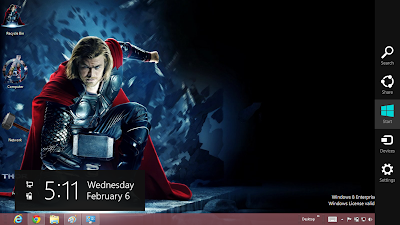 Thor The Dark World Theme For Windows 8