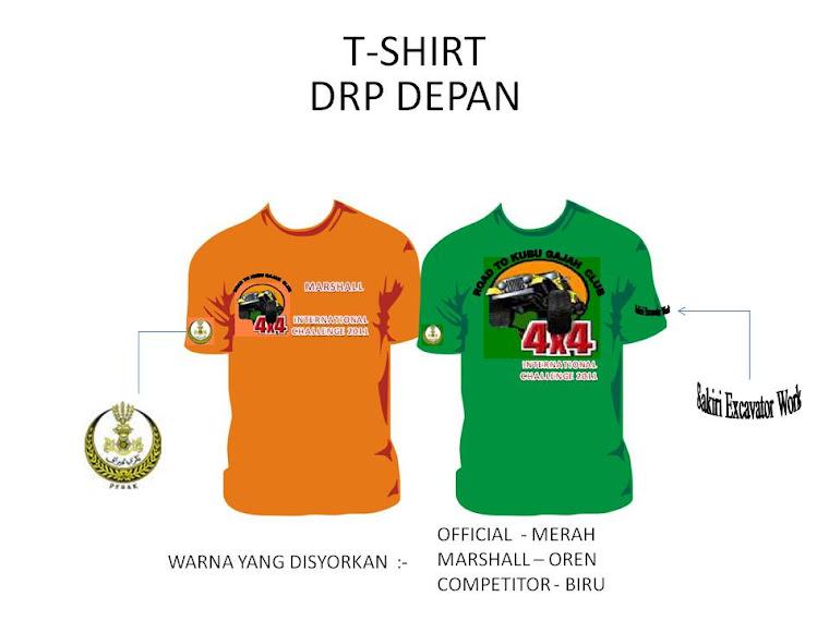 T-Shirt event yg akan menemui peminat2 4x4 pada Mac 2011 di Kubu Gajah , Perak