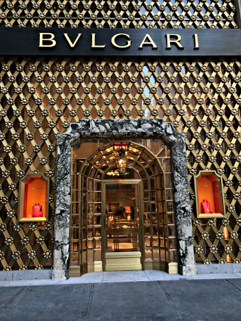 Bvlgari Looking So Good on Fifth Avenue, NYC!