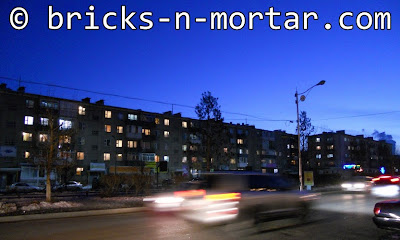 Snapshot of mid-rise buildings' skyline - bricks-n-mortar.com