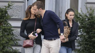 Eerste kus Sabia Boulahrouz en Rafael