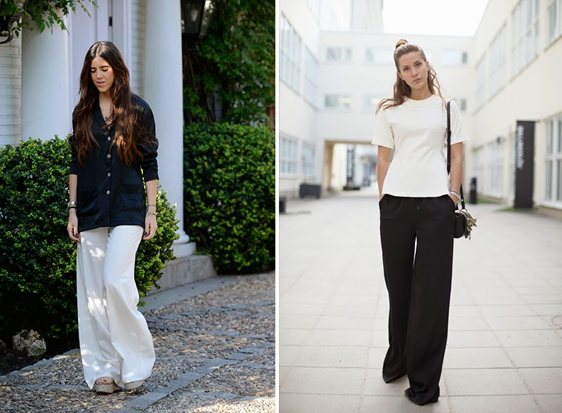 HOW TO WEAR: WIDE PANTS by NINASVINTAGE