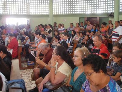 Imagens da 17ª Romaria da Juventude no Santuário do Lima em Patu - RN