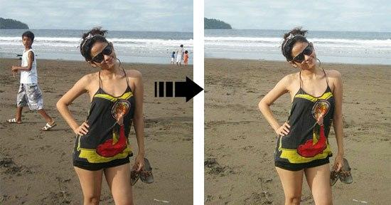 Cara Menghilangkan Objek Pada Foto
