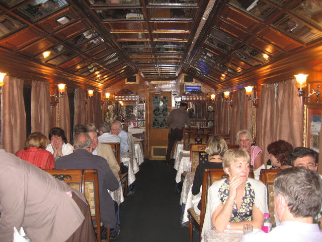 Maharaja & Maharani Restaurant ,Palace on wheels