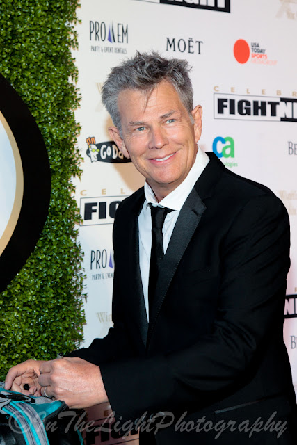 Celebrity Fight Night 2013 Red Carpet David Foster