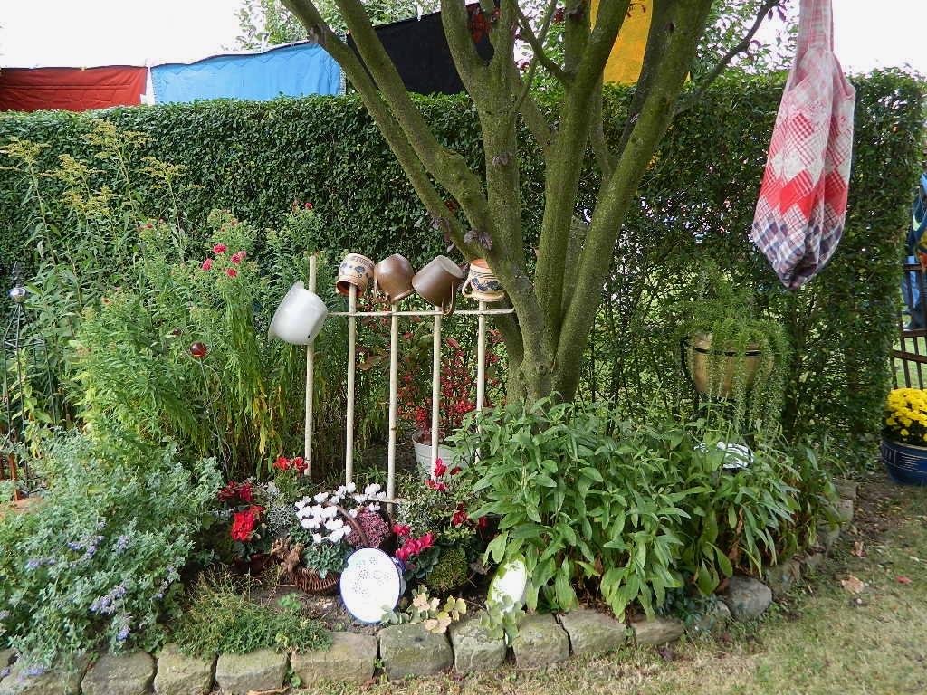 ninifee's kleines cottage: pw-ausstellung im garten, Best garten ideen