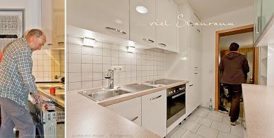 Harald Maier - vormals Mit-Geschäftsführer von elha-service hat diese Küche mit seiner neuen Firma KM - Küchenmodernisierung geplant und aufgebaut.