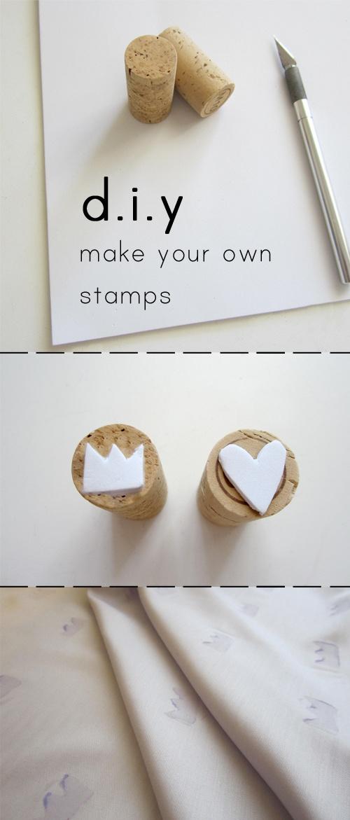 stamps sellos corcho reciclar