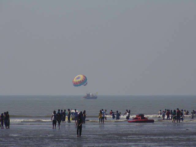 Scenic view at Kashid Beach