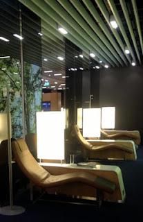 Salón Ejecutivo, Lufthansa, Frankfurt, Business Lounge