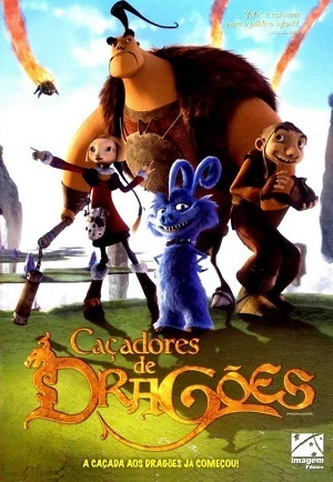 Caçadores de Dragões - BluRay Filmes Torrent Download capa