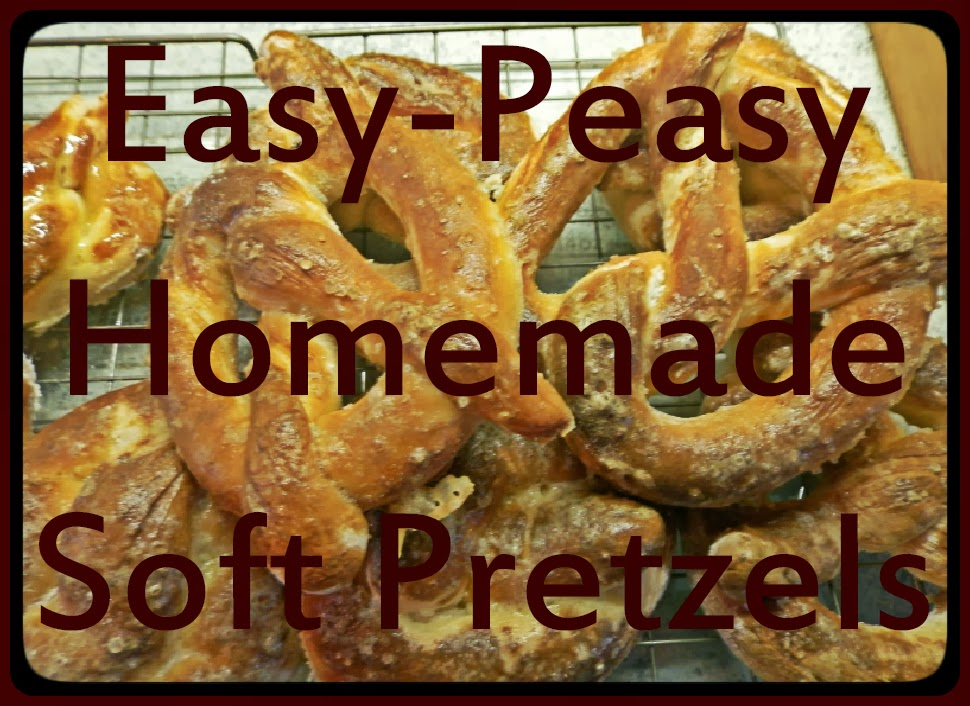 Beauty, Miscellany: Easy Peasy Homemade Soft Pretzels