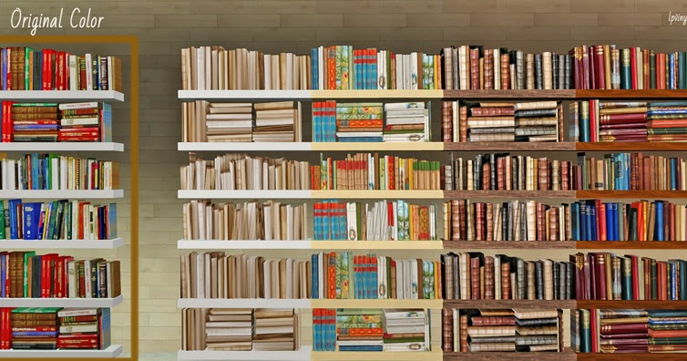 My Sims 3 Blog Lunas Deco Bookshelves Recolors By Lpvinyl21