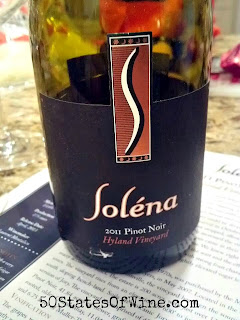 Soléna Estate 2011 Pinot Noir Hyland Vineyard