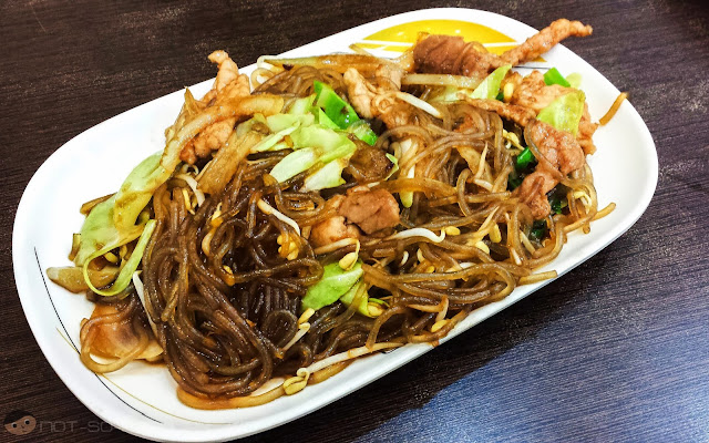 Korean Chap Chae in Hainanese Delights - plain but good