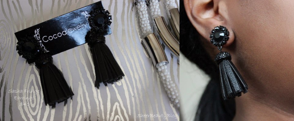 picture of fringe earrings from Cocoa Jewelry