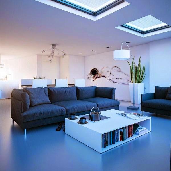 Contoh Desain Interior Rumah Minimalis Modern