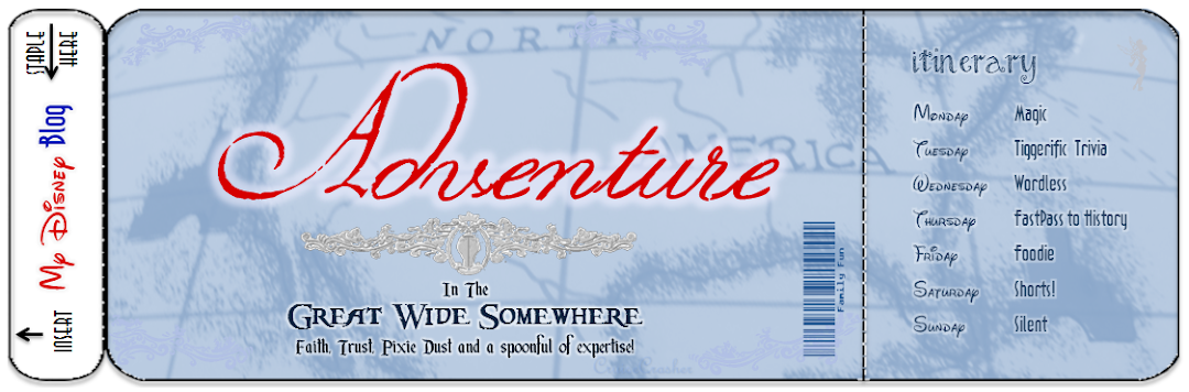 Adventure In The Great Wide Somewhere~A Disney Blog
