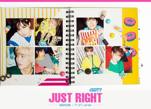 Letra de Just Right de GOT7 en Español